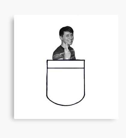 Dan in your pocket  Canvas Print