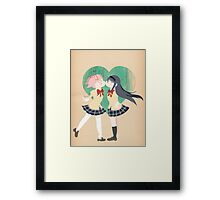 Papercraft Lovers Framed Print