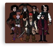 Johnny Depps Canvas Print