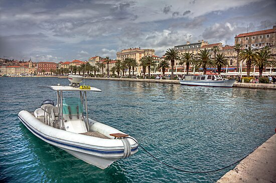 The Harbor of Split in Croatia  {ENLARGE}  -FEATURED- by John44