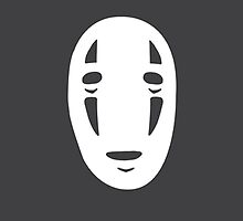 Spirited Away - No Face by ChloeJade