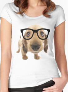 Nerd Dog Women's Fitted Scoop T-Shirt