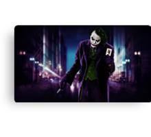 Joker, CHAOS Canvas Print