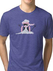 Ski Penguin VRS2 Tri-blend T-Shirt