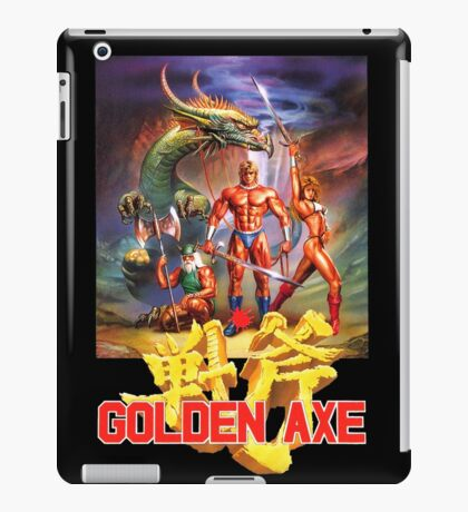 Golden Axe iPad Case/Skin
