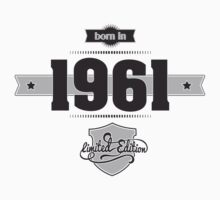 Born in 1961 Kids Clothes