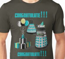 Doctor Who CONGRATULATE!!! Unisex T-Shirt