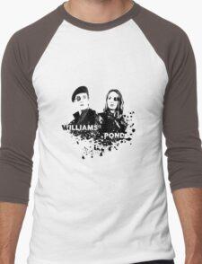 Amy Pond & Rory Williams Men's Baseball ¾ T-Shirt