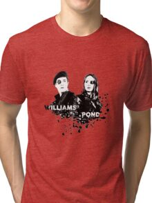 Amy Pond & Rory Williams Tri-blend T-Shirt
