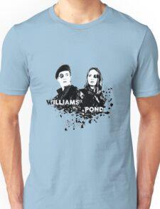 Amy Pond & Rory Williams Unisex T-Shirt