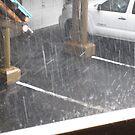 Lake Tahoe Hail by AuntieBarbie