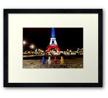 Urban Exploration (#2) - Iron Tower Framed Print