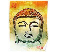 Color Buddha Poster