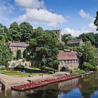 The River Nidd at Knaresborough by vivsworld
