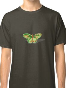 Spring Green Butterfly Classic T-Shirt