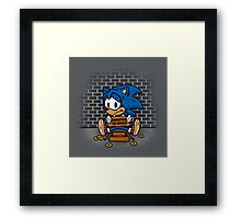 Speed Addict Framed Print