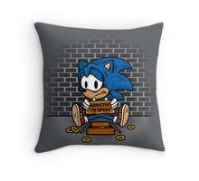 Speed Addict Throw Pillow
