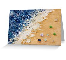 Sea Glass (2) Greeting Card