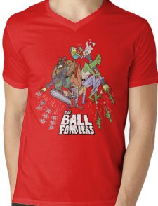 Rick & Morty - The Ball Fondlers Mens V-Neck T-Shirt