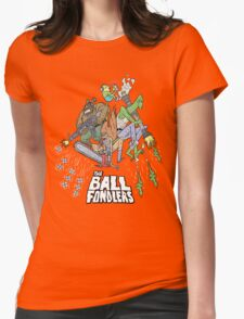 Rick & Morty - The Ball Fondlers Womens Fitted T-Shirt