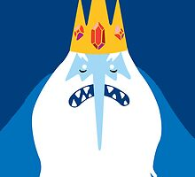 Ice King - Adventure Time by bahamut90