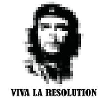 Viva la Resolution! Photographic Print