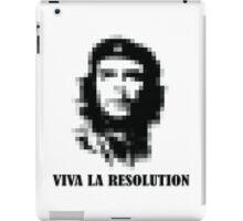 Viva la Resolution! iPad Case/Skin