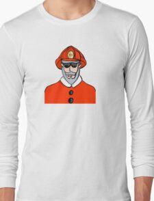 Fireman Santa Long Sleeve T-Shirt