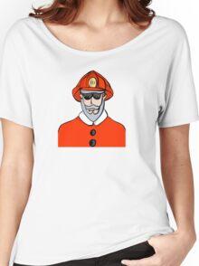 Fireman Santa Women's Relaxed Fit T-Shirt