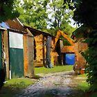 Painted Old Farm Edegem - Belgium. by Gilberte