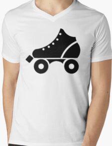 roller-skate Mens V-Neck T-Shirt