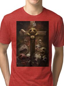 Binding of Isaac print Tri-blend T-Shirt