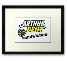 The Sandwich Maker Framed Print