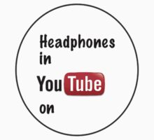 Headphones in youtube on  by lilyvano99