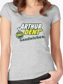 The Sandwich Maker Women's Fitted Scoop T-Shirt