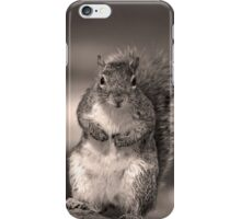 Squirrel t-shirt iPhone Case/Skin