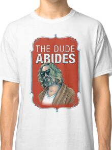 BIG LEBOWSKI-The Dude- Abides Classic T-Shirt