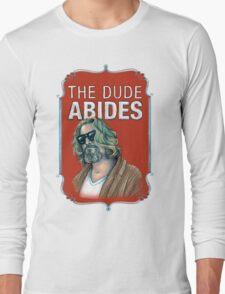 BIG LEBOWSKI-The Dude- Abides Long Sleeve T-Shirt