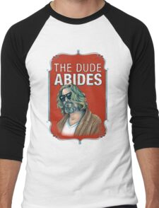 BIG LEBOWSKI-The Dude- Abides Men's Baseball ¾ T-Shirt