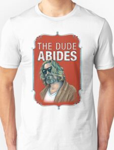 BIG LEBOWSKI-The Dude- Abides T-Shirt