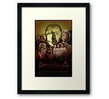 Dracula Fan Poster Framed Print