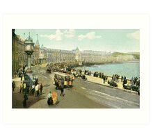 Victorian Douglas Isle of Man Loch Promenade Art Print