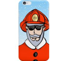 Fireman Santa iPhone Case/Skin