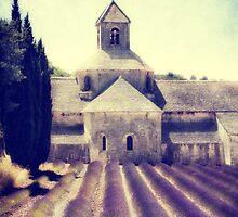 abbey Senanque by lucyliu