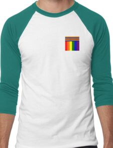 Rainbow Wrap Men's Baseball ¾ T-Shirt
