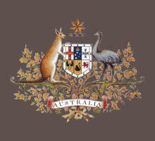 australian coat of arms Baby Tee