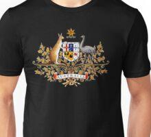 australian coat of arms Unisex T-Shirt