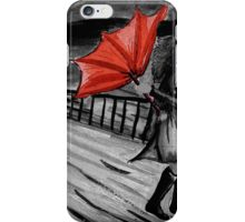 Windy weather iPhone Case/Skin