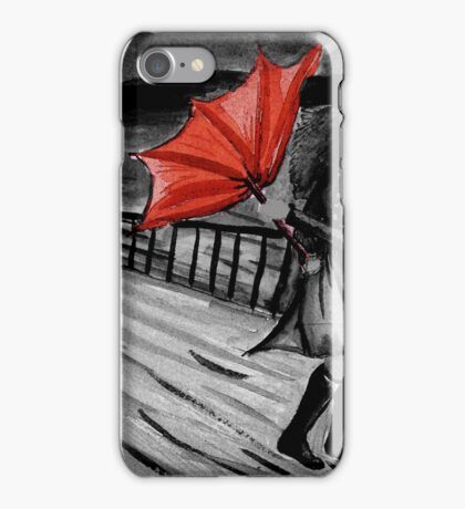 Windy weather iPhone Case/Skin