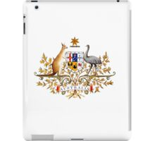 australian coat of arms iPad Case/Skin